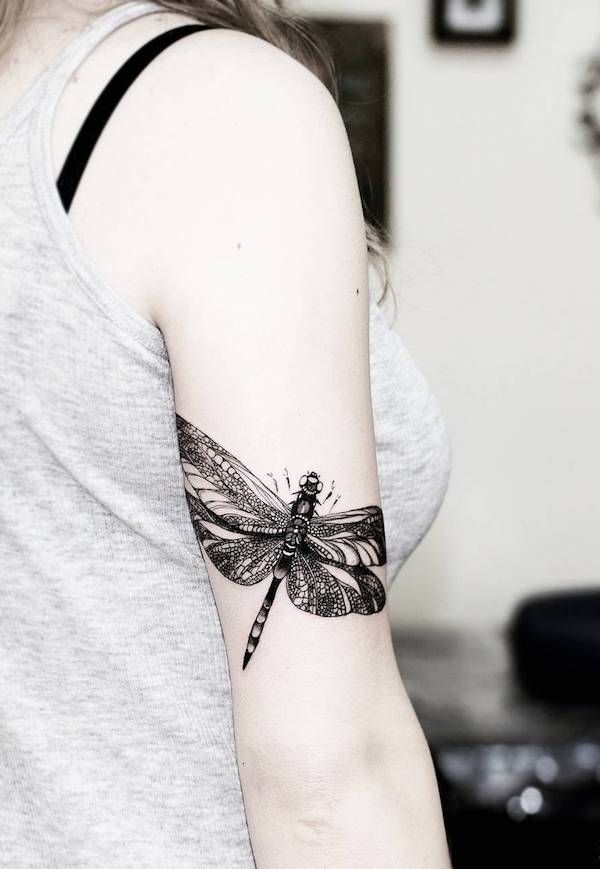 80 Dragonfly Tattoos for Women | Cuded