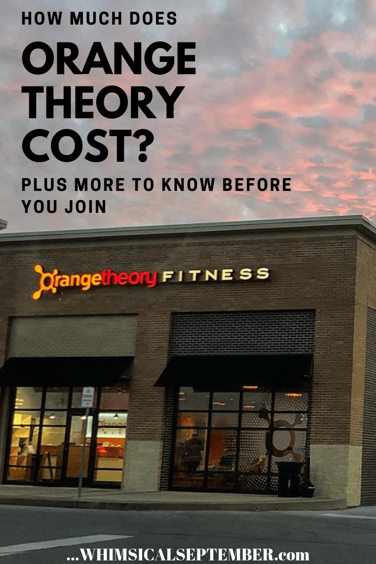 Orangetheory Price And Other Info To Know Before Signing Up Orange Theory Local Gym Boutique Gym