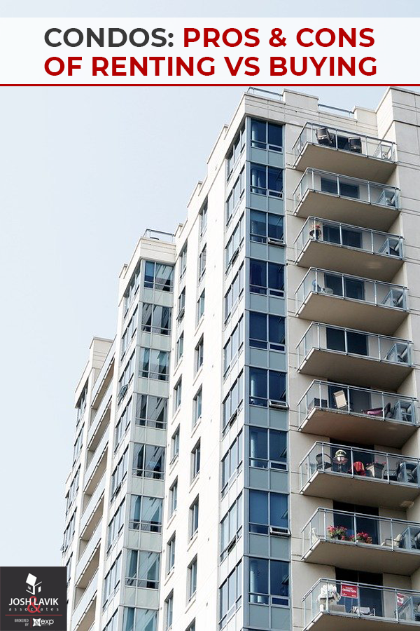Interested In A Condo But Aren T Sure If Renting Or Buying Is A Better Option Check Out These Pros And Cons Of Renting Vs B Buying A Condo Condo Rent Vs