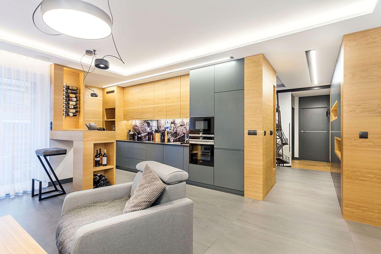 Kuchnia Otwarta Na Salon Powinna Wspolgrac Z Cala Aranzacja Wnetrza Stanowiac Jej Integralna Calosc Kuchnia Wyposazenie Aranzacja Home Decor Home Decor
