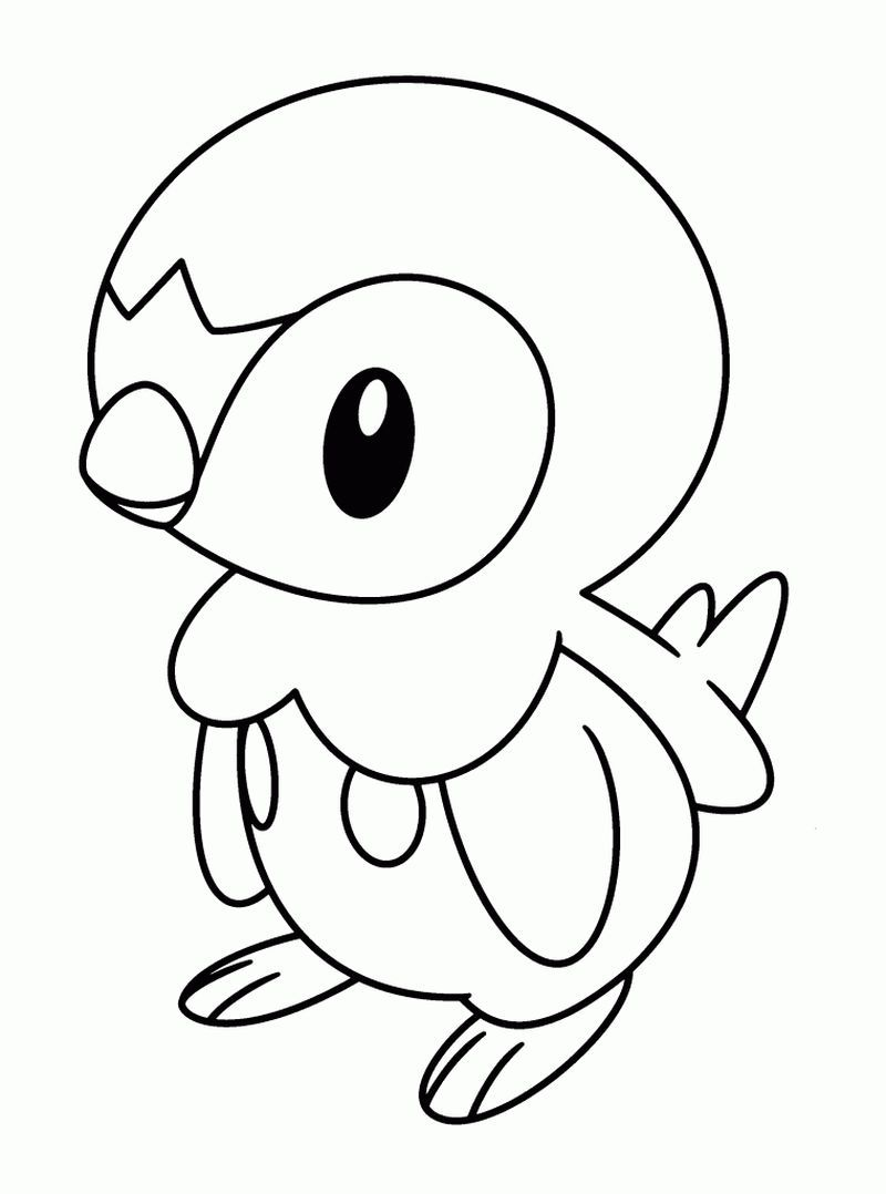 Piplup Pokemon Coloring Pages Pokemon Coloring Pages Pokemon Coloring Sheets Bird Coloring Pages