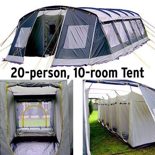 20 Sleeper Tent Tent Cool Tents 20 Person Tent