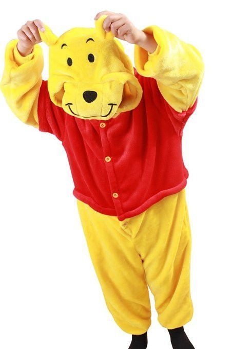 Winnie The Pooh Onesie for Kids Pajamas   Animal onesie ...