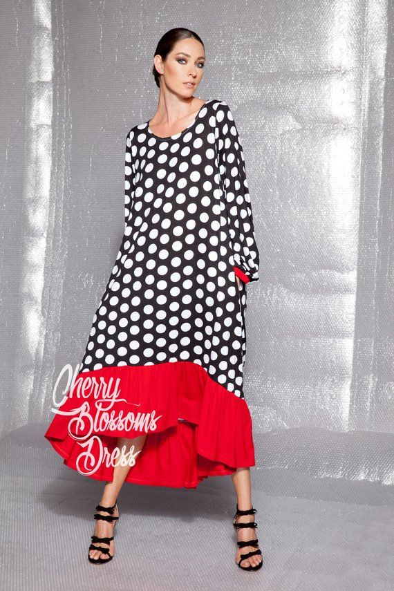 Polka Dot Summer Dress, 022.171