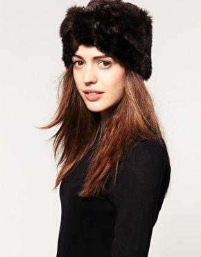 ASOS Faux Fur Turban Headband - StyleSays