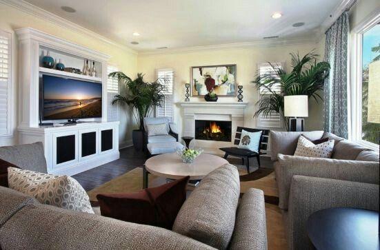 Tv Opposite Window Livingroom Layout Living Room Furniture Layout Living Room Arrangements