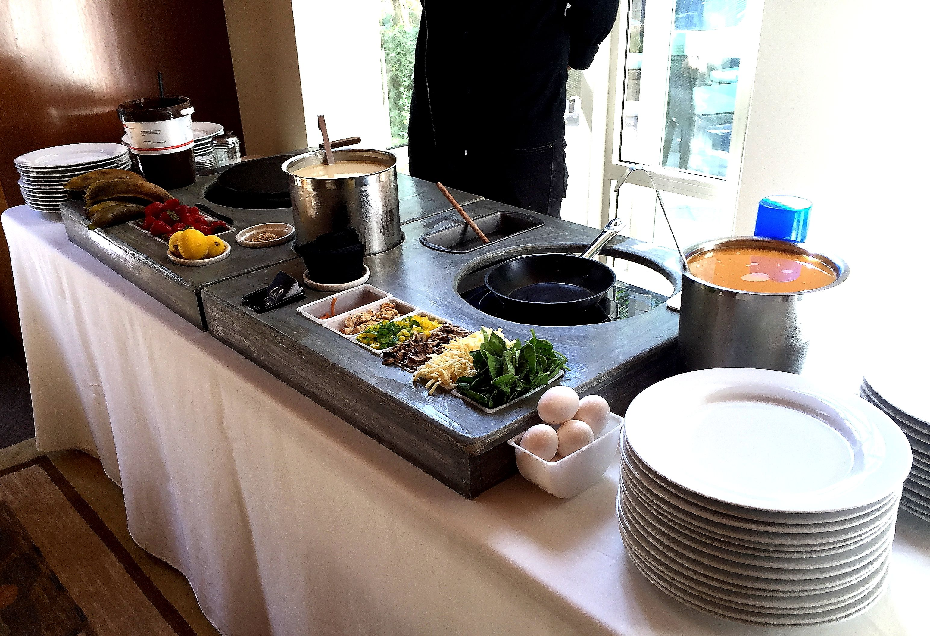 French Crepes And Omelet Station At Your Party Organizing