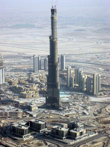 Worlds tallest building in Dubai