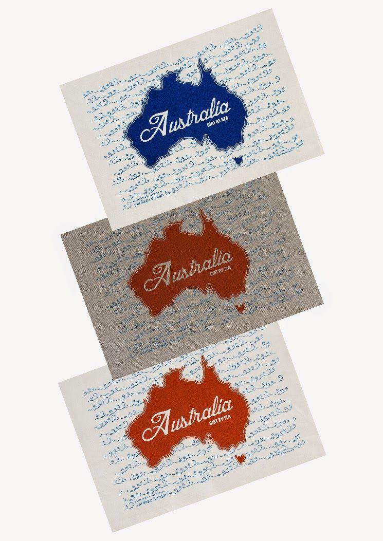 yardage design ~ hand printed fabric and homewares: { new } ochre australia tea…
