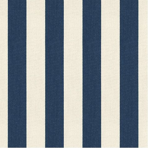 Canopy Stripe Navy Sand SunbrellaR Fabric By The Yard