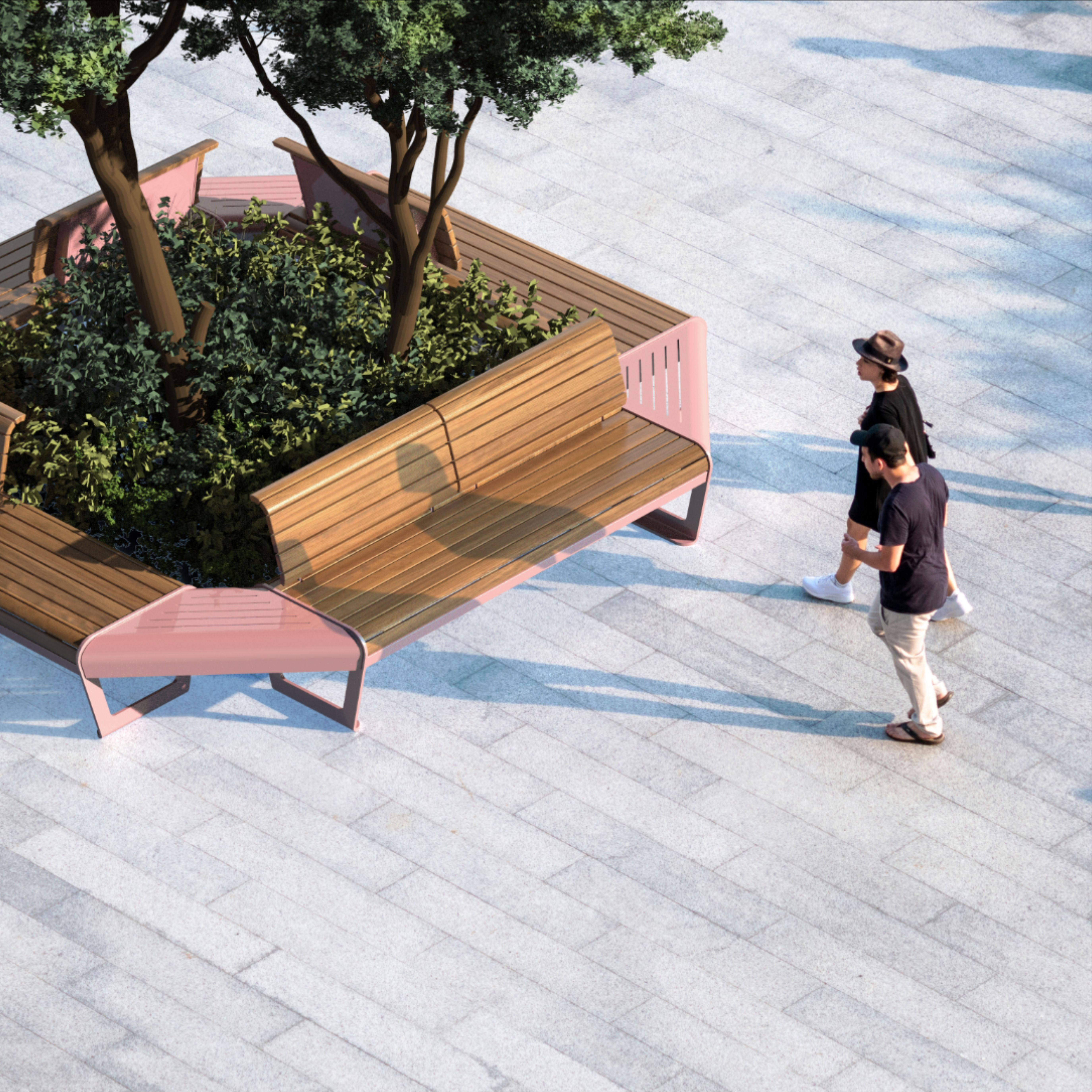 Banc Hochelaga En 2020 Decoration Exterieur Mobilier Mobilier Urbain