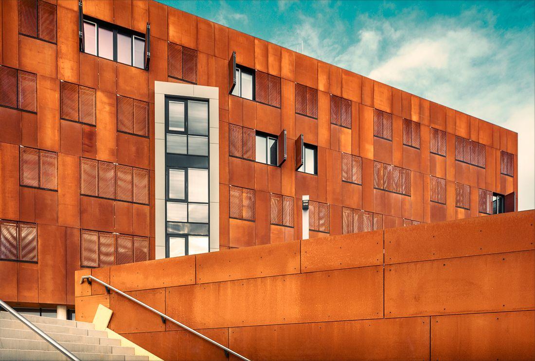 architecture | Hörsaalzentrum on Behance