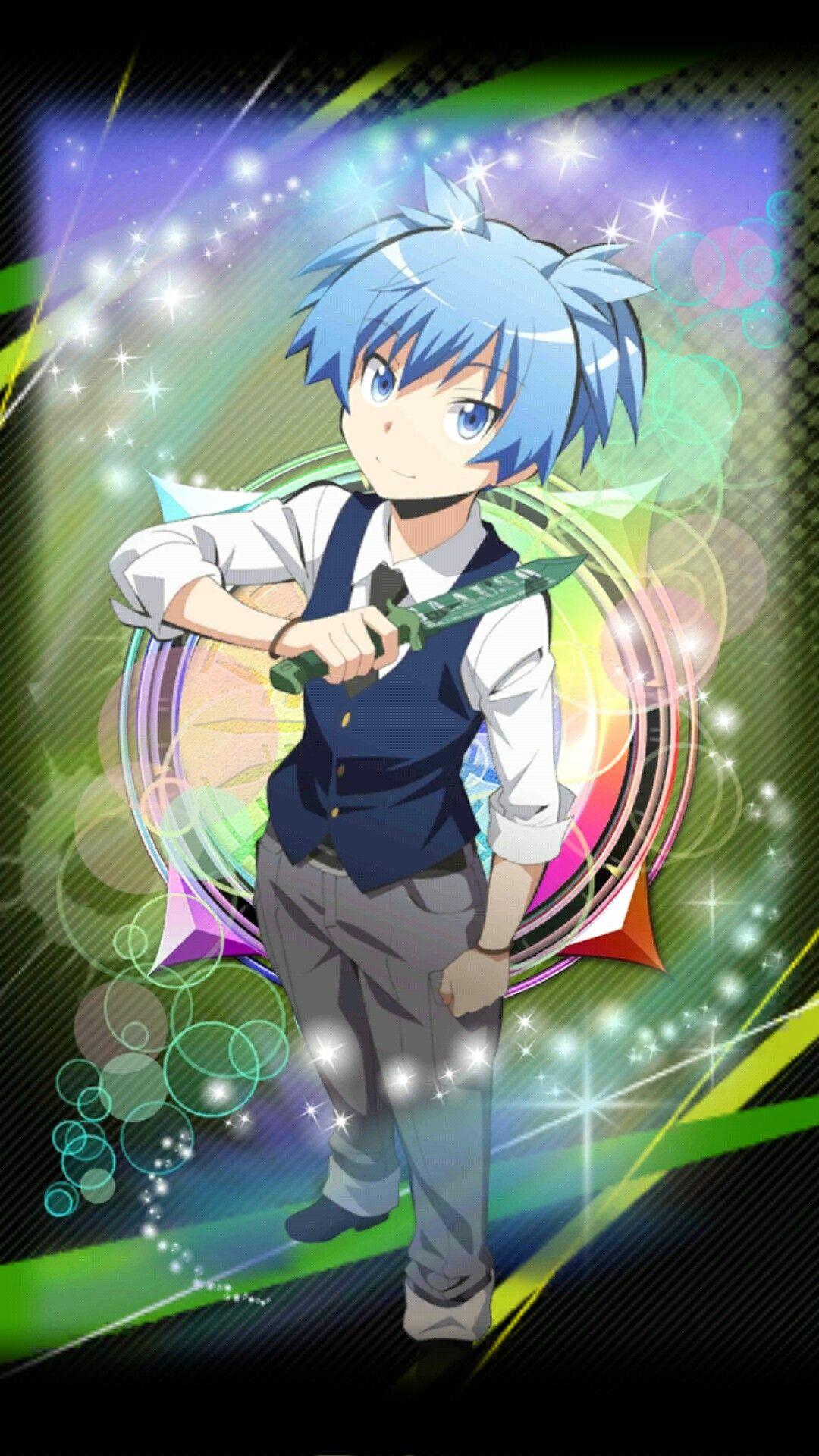 Assassination Classroom Mobile Game Card 6 star Nagisa