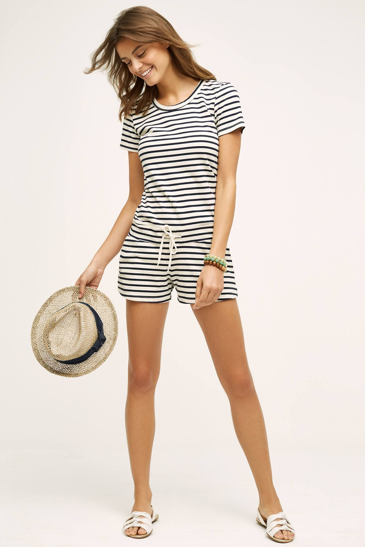 2942946fe1e6 Shop the Sailmate Romper and more Anthropologie at Anthropologie today.  Read customer reviews