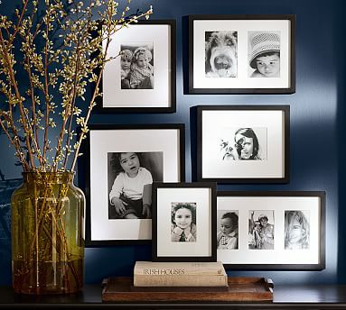 Gallery in a Box, Black Frames, Set of 6 | Woods, Walls and Gallery wall