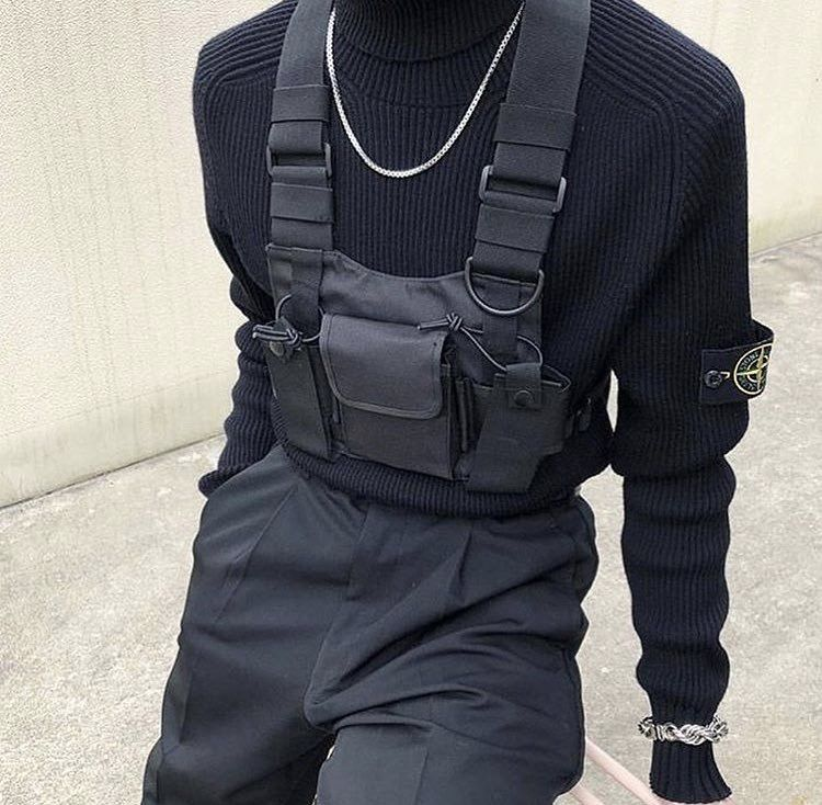 Luggage & Bags Men's Bags Hip-hop Kanye West Street Ins Hot Style Chest Rig Military Tactical Chest Bag Functional Package Prechest Bag Vest Bag Lovers Cheapest Price From Our Site