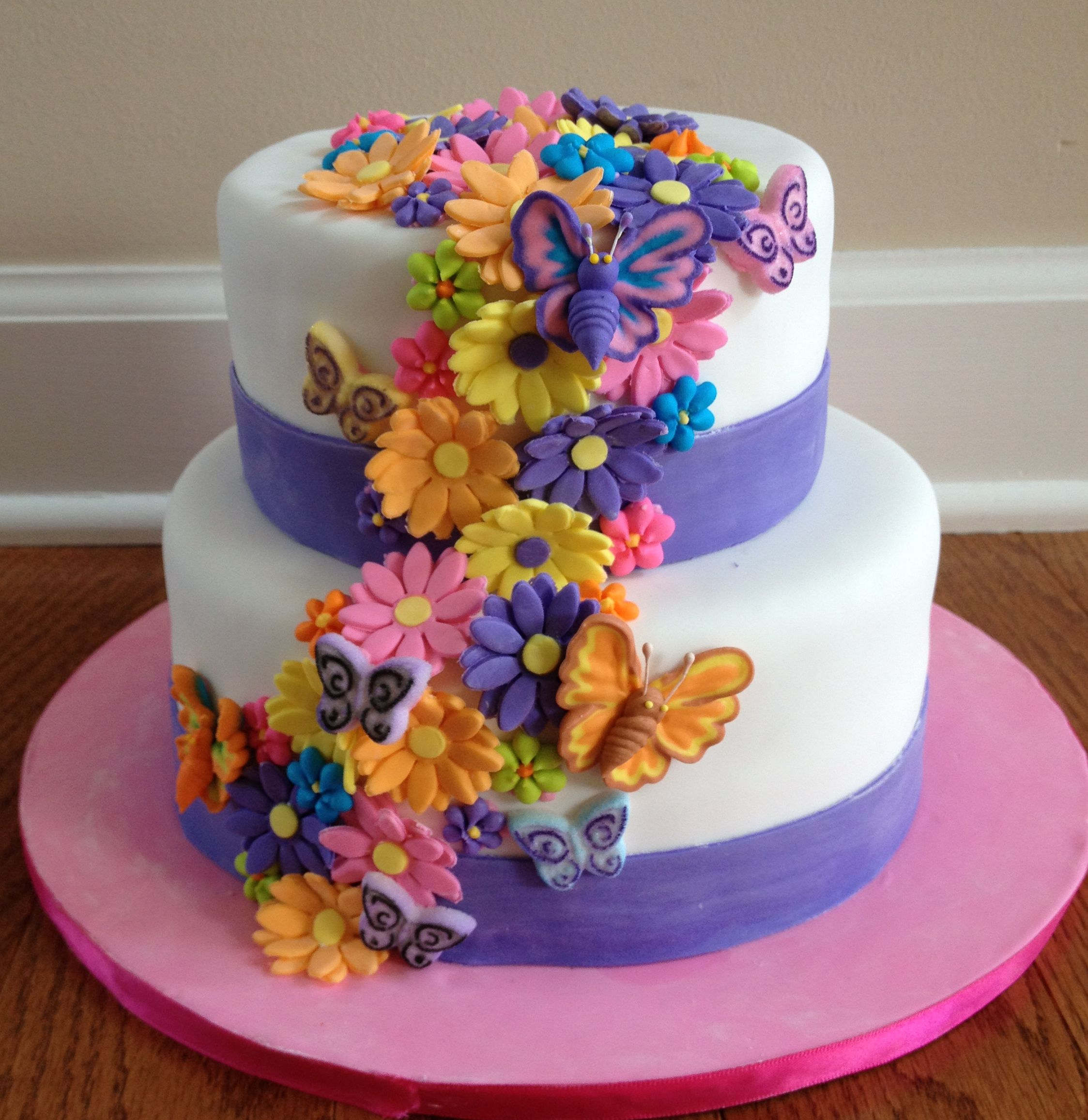 Szletsnapi kpeslapok flower birthday cakes photo picture in birthday cake dhlflorist Choice Image