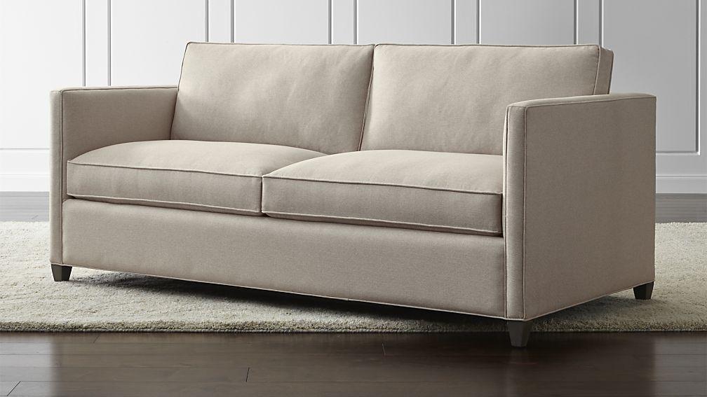 Dryden Full Sleeper Sofa Crate And Barrel Full Sleeper Sofa