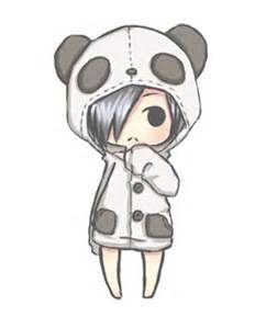 Pin By Yandi Sophian On Cute Bear Chibi Girl Drawings Chibi Panda Panda Drawing
