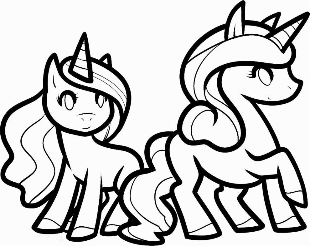 Cute Unicorn Coloring Pages Unicorn Coloring Pages