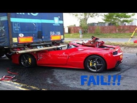 Supercar Fails And Crashes Compilation Hd Video Http