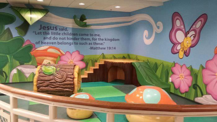 children's ministry rooms | children's church room decorating