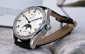Parnis Gunstige Mondphasenuhr Mit Grossdatum Uhr Automatikuhr Uhren
