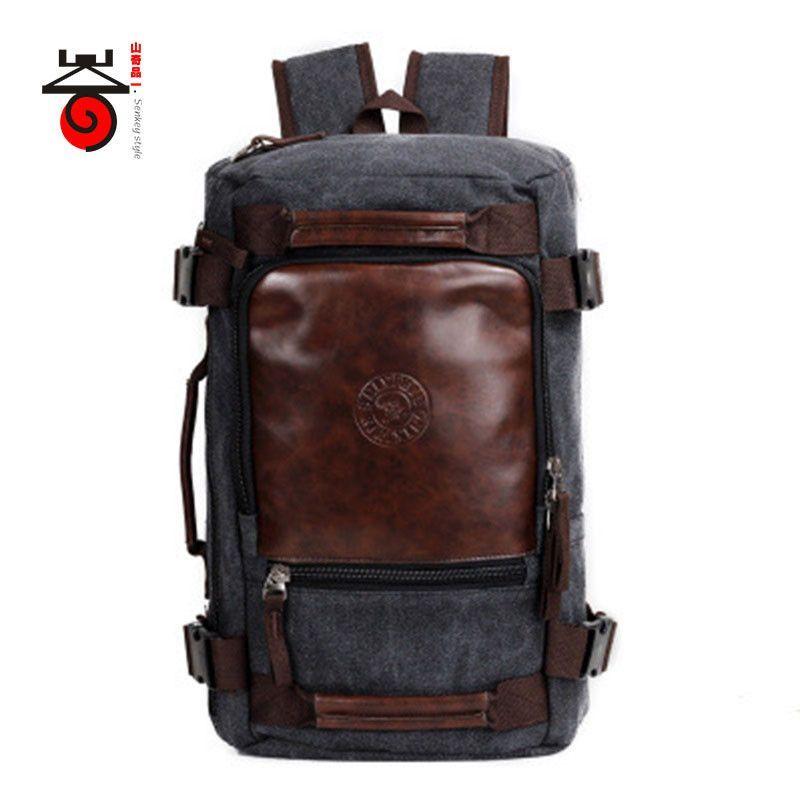 4a555c8f9fb5 Senkey style 2017 Fashion Large Capacity Multifunction Travel Rucksack for  Men