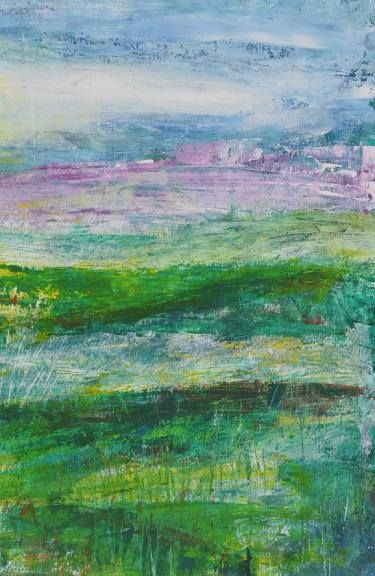 "Saatchi Art Artist Iso Bella; Painting, ""'Edge Of The Landscape' 2014"" #art"