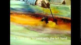 WATERCOLOR PAINTING SUNSET AT EVENTIDE By MILLIE GIFT SMITH, via YouTube.