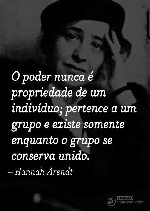 Hannah Arendt Citacoes Frases Legais