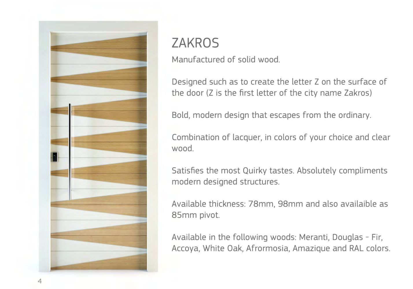 BLOCK95 CONTEMPORARY DOORS 2013-14 - Block95 - Catalogue ...