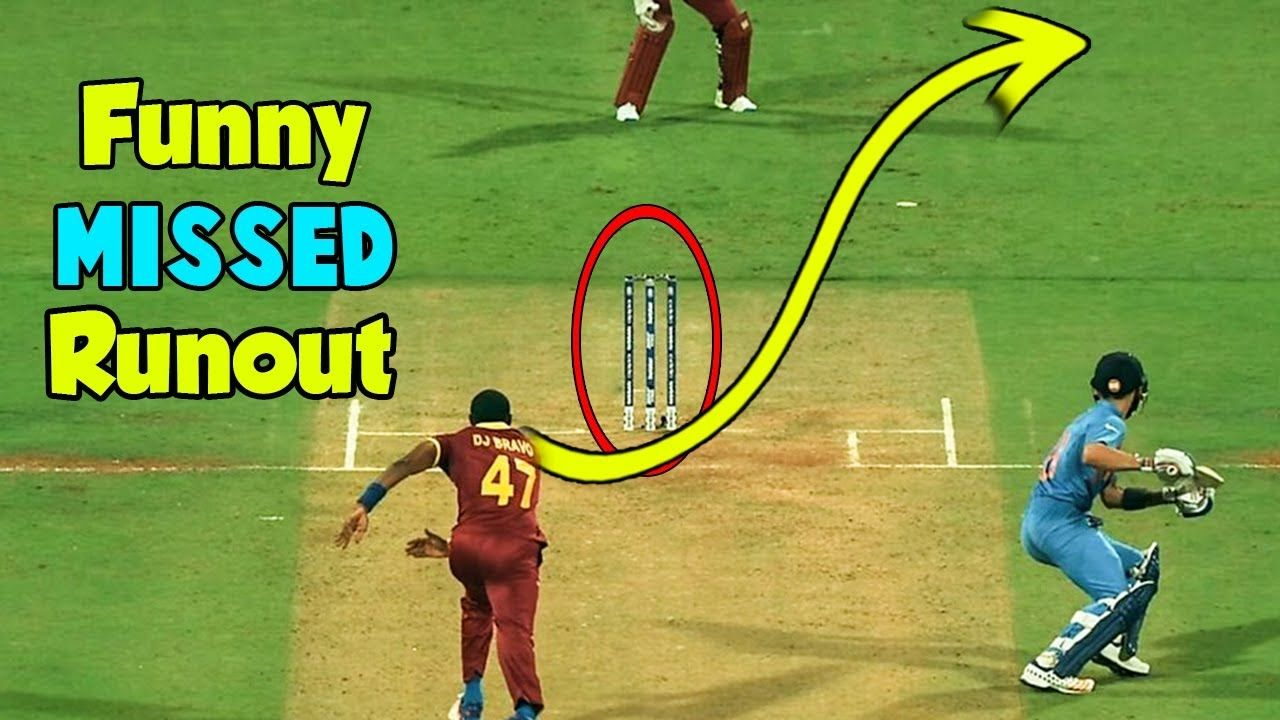 Top 5 Funny Missed Runouts in Cricket Easy RunOut