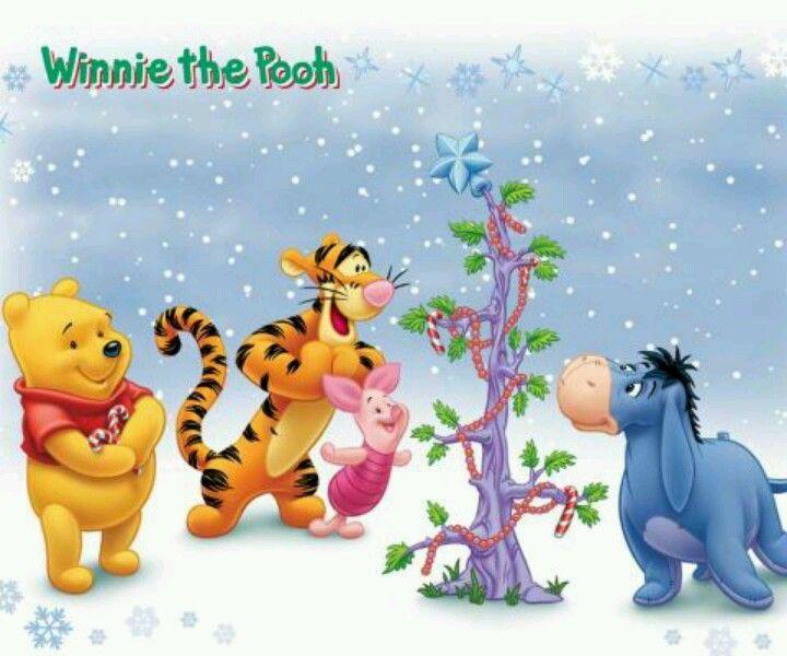xmas eeyore pooh\u0027s board Pinterest Eeyore, Winnie the Pooh and