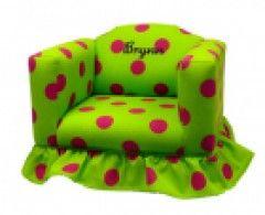 Kids Chair with Ruffled Skirt