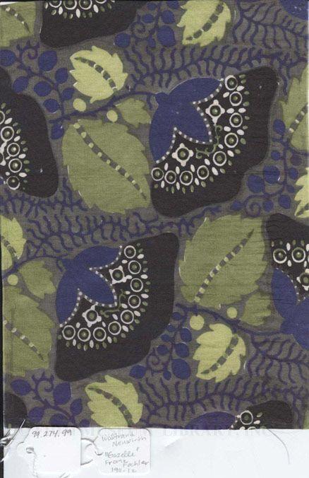 """""""Gazelle"""" Textile Swatch by Fochler, Franz  #floral"""