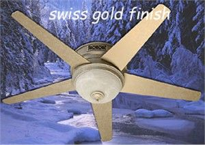 reiker rrc12000 room conditioner ceiling fan space heater with remote control swiss gold finish solar roof architectural salvage broken blade