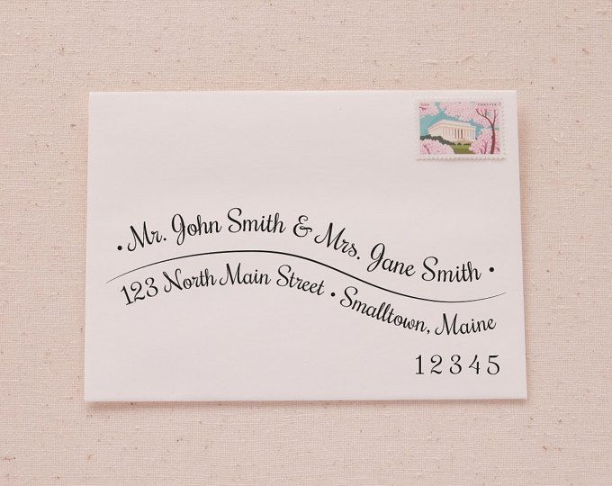 Do You Need An Inner Envelope For Wedding Invitations: Printable A7 Envelope Address Template