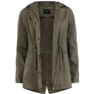 Khaki short parka jacket | bts | Pinterest | Khaki shorts, Parka ...