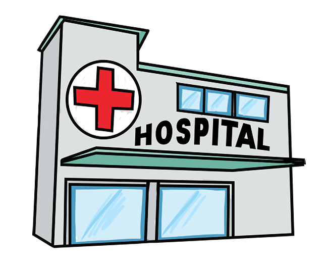 Resultado de imagen para dibujos de hospitales Fotos