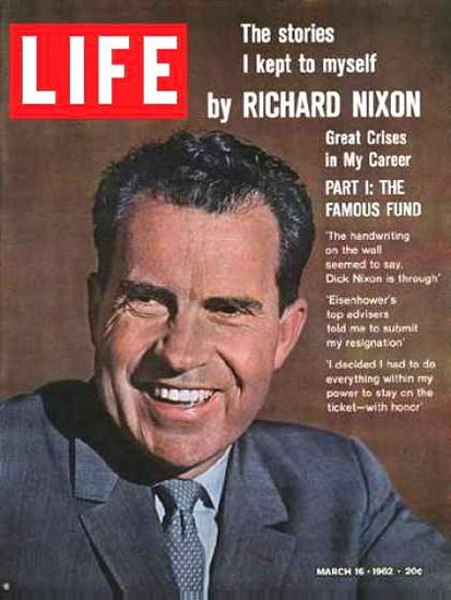 life magazine cover copyright richard nixon madmenart life magazine cover copyright 1962 richard nixon madmenart com life