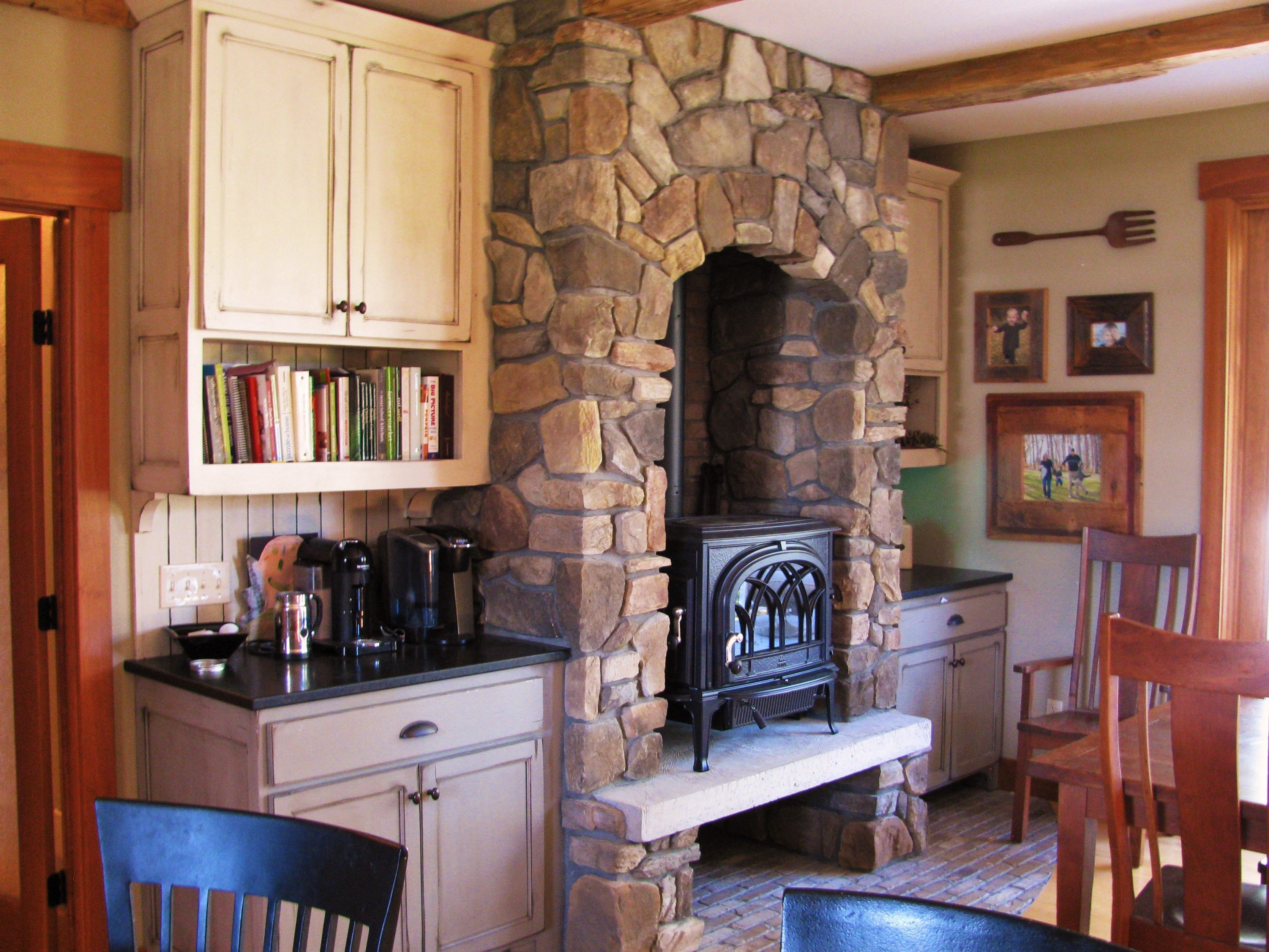 We Just Completed This Unique Wood Stove Project The