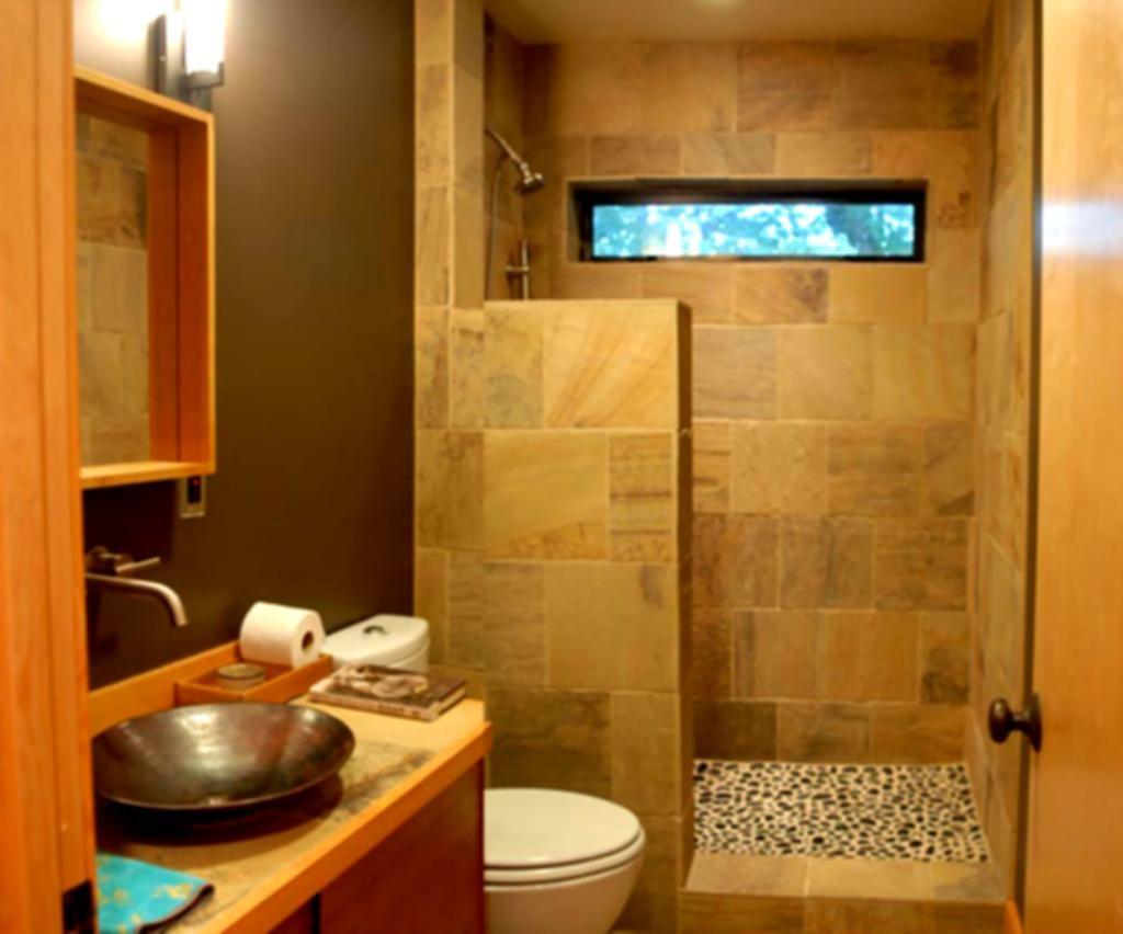Simple bathroom shower - Bathroom Marble
