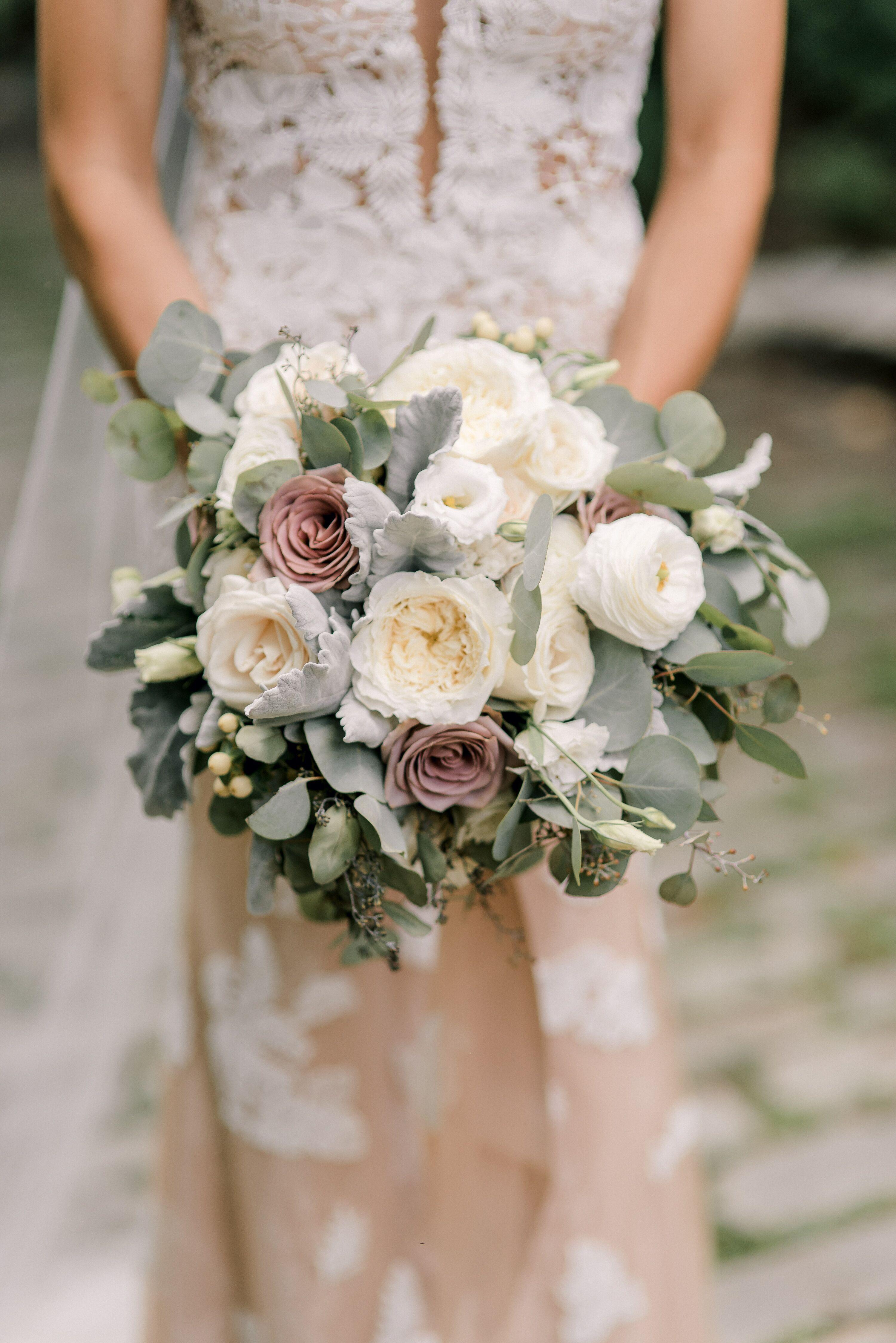 11++ White rose bridesmaid bouquet ideas in 2021