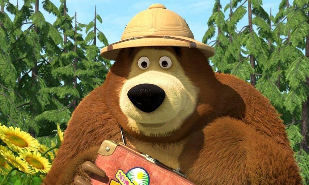 Masha And Bear Jigsaw Puzzle Masha And The Bear Marsha And The Bear Bear