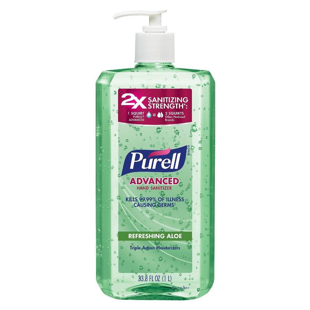 Purell Aloe Hand Sanitizer 1 Liter Hand Sanitizer Sanitizer
