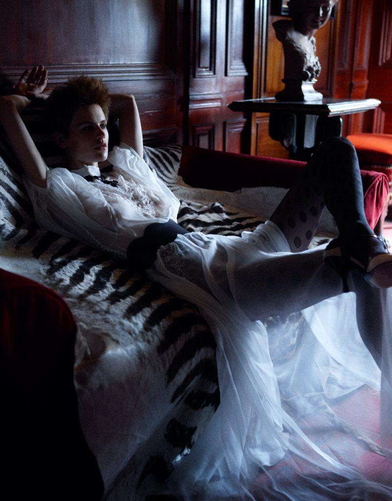 Saskia de Brauw | Photgraphy by Mikael Jansson | For Vogue Japan | September 2011