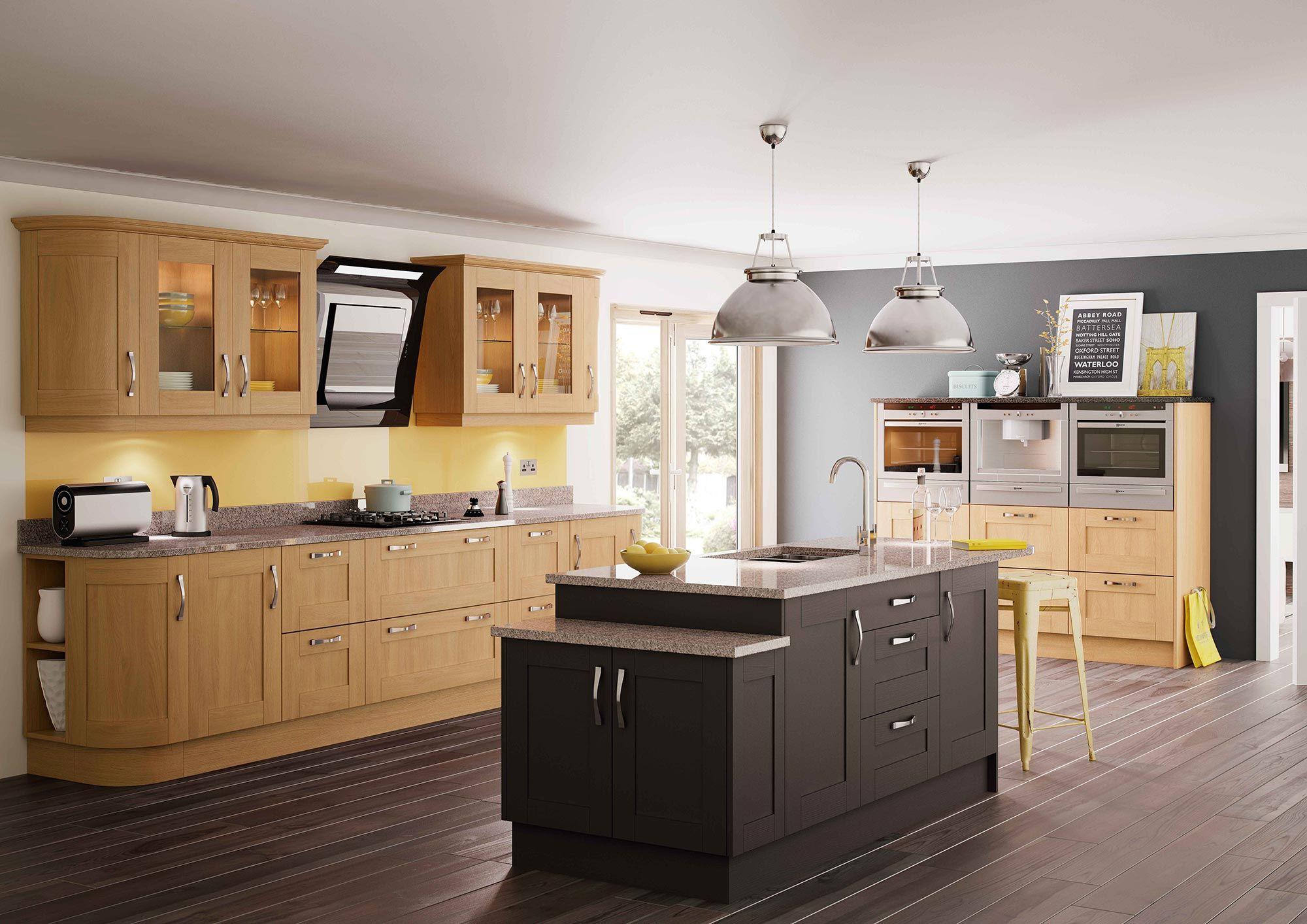 Trenton oak & graphite http://www.sigma3.co.uk/kitchens/style ...