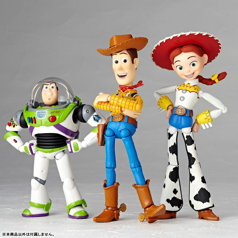 Kaiyodo SCI-FI REVOLTECH TOY STORY WOODY Action Figure Toy New in box