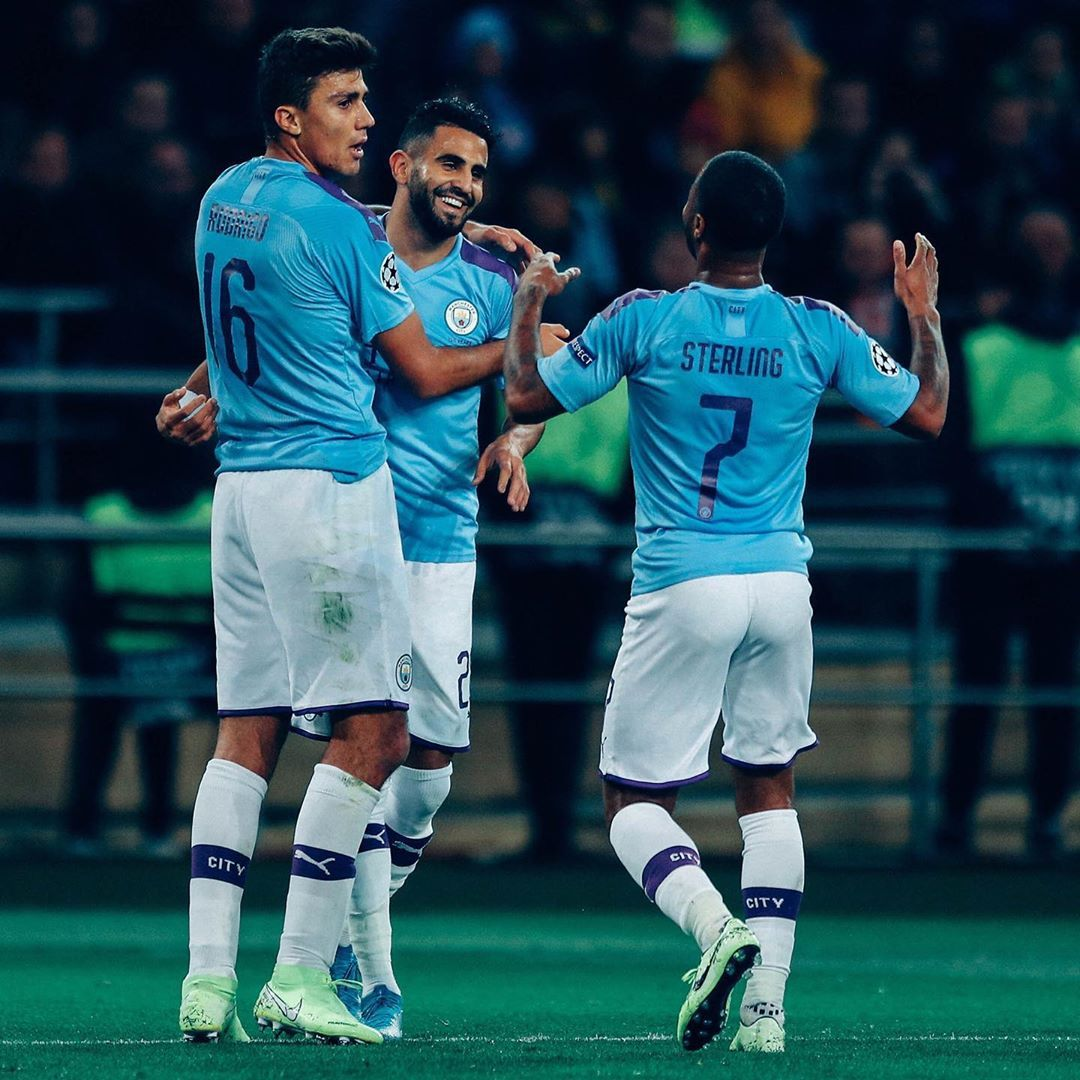 Night Under The Lights Incoming Mancity Ucl Manchester City Uefa Champions League Manchester